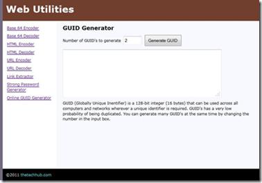 Online-GUID-Generator