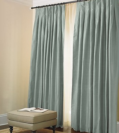 Celadon 36 (Restoration hardware draperies)