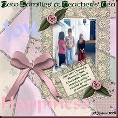 2008 MIA New Families' Tea