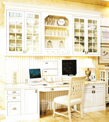 designing your dream home kitchen officedesk area - Small Kitchen Desk Ideas