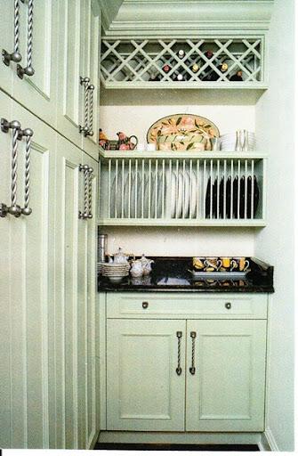 Designing Your Dream Home Kitchen Vertical Storage & Vertical Dinner Plate Storage - Castrophotos