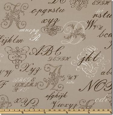 monogramscriptfabric