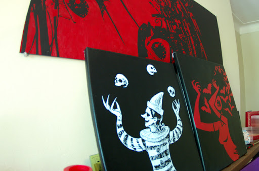 death, blood, horror, blood painting, scary stuff, akumu