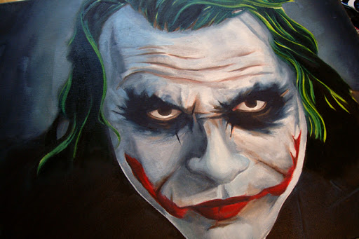 joker, joker poster, dark knight poster, dark knight painting, joker canvas