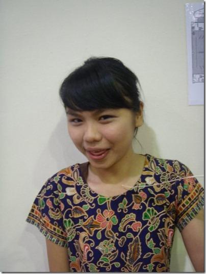 the malay girl make-up