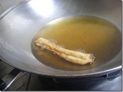 frying...