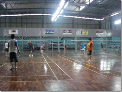 SMYB badminton hall