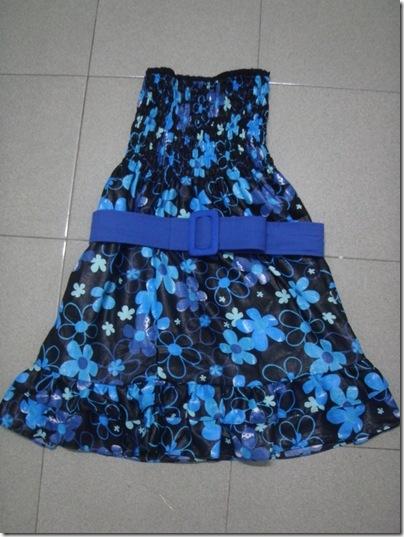 flora tube dress