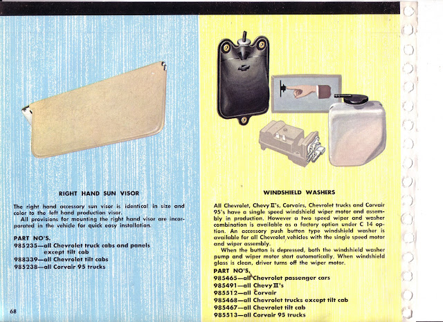 Description et spécifications Chevrolet GMC 1960-1966 Image0-37