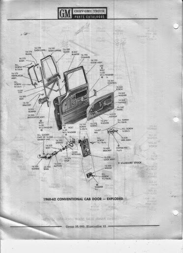 Description et spécifications Chevrolet GMC 1960-1966 Image6