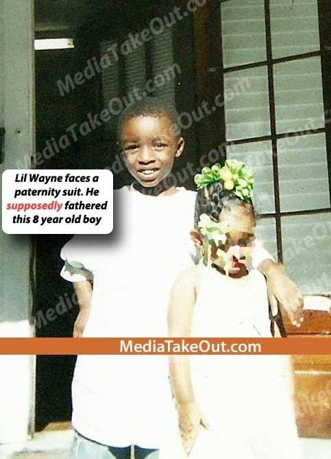 Foto do suposto filho do Lil Wayne