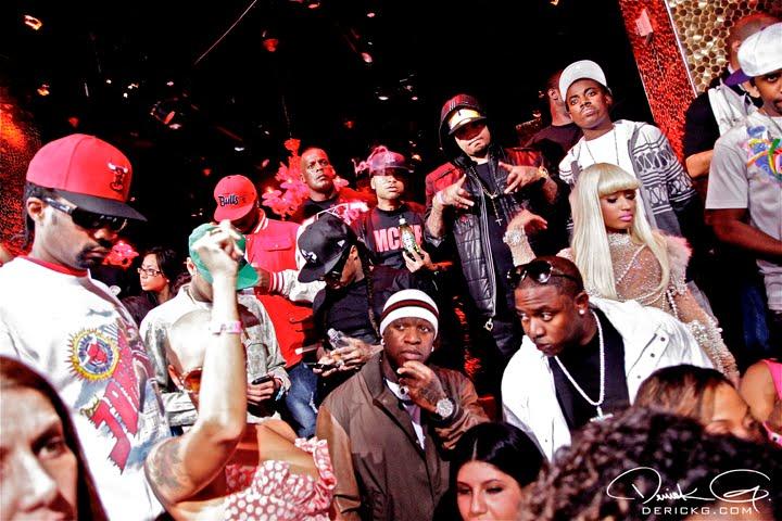 Lil Wayne no aniversário da Nicki Minaj
