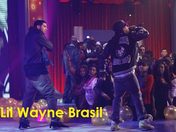 Lil Wayne & Drake se apresentando com Right Above It
