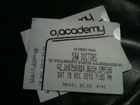 Saw Doctors - Shepherd's Bush Empire 2010 - Tickets