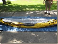Floor Over Backbone and Kayak