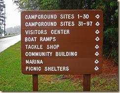 Activities Sign