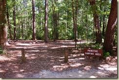 primative camp area