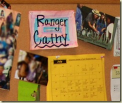 ranger cathy sign