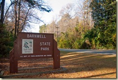 Barnwell Main Sign