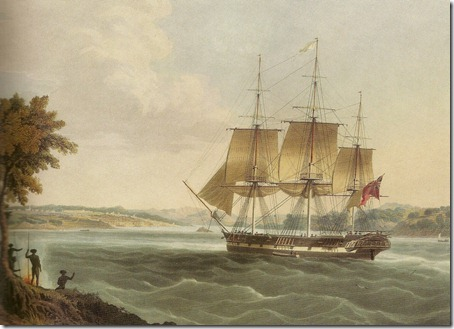 The Mellish in Sydney Harbour. Fonte: Wikimedia