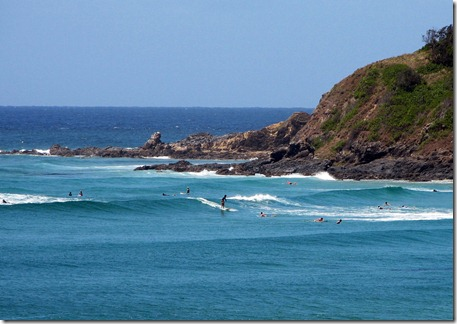 Wategos, Byron Bay. Foto: Tiago Dias