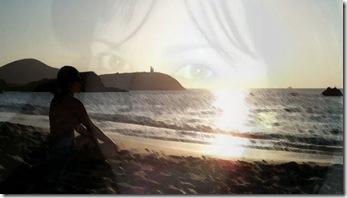 Playa y rostro