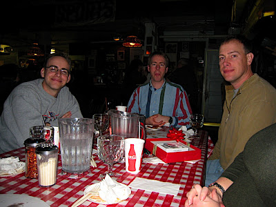 Brothers at Big Ed's Pizza