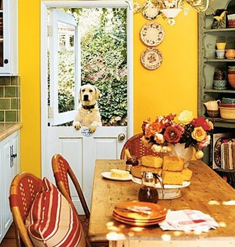 Inspiration - Dutch Door - Cottage Living Mag