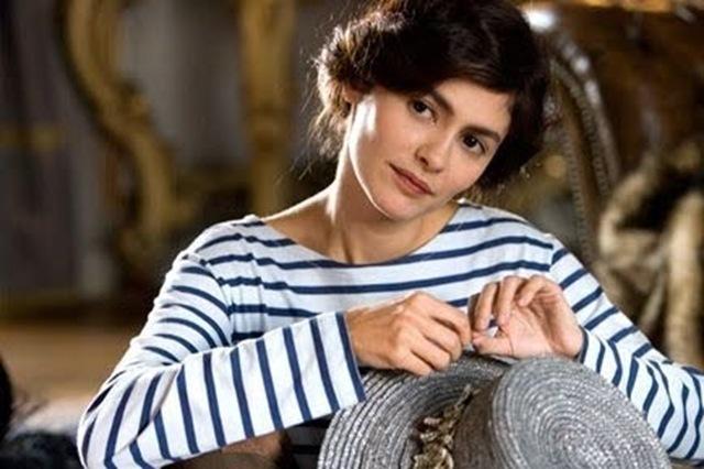 stripe boatneck shirt