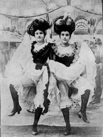 two-french-can-can-dancers