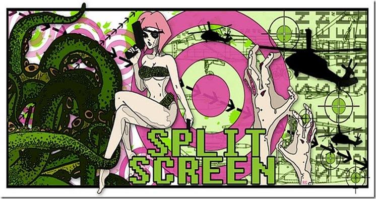 Split Screen Logo