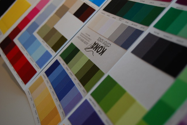 Kona colour chart