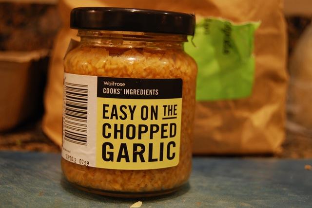 Celeriac garlic