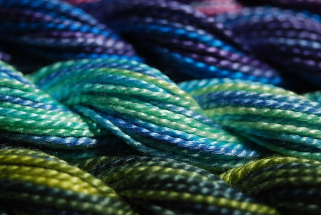 Perle thread aqua