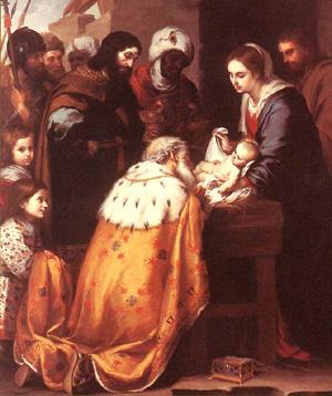 Murillo (hacia 1655-60), Adoración de los Magos, Museo de Arte, Toledo