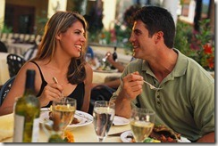restaurants.com couple eating photo