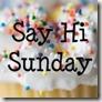Say Hi Sunday Blog Hop