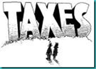 taxes wordart image
