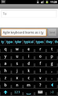 Agile Keyboard - screenshot