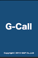 Screenshot of G-Call