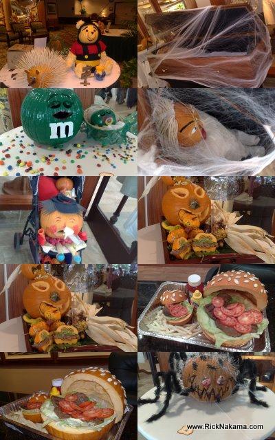 www.RickNakama.com Halloween Pumpkin Jack-o-lanterns