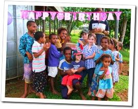 Rosie's 7th birthday party at Rumginae