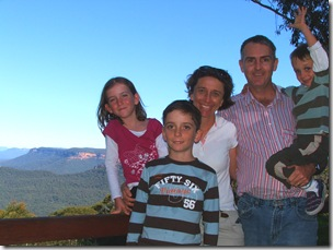 Family photo (Blue Mountains)