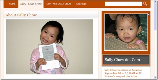Sally Chow dot com