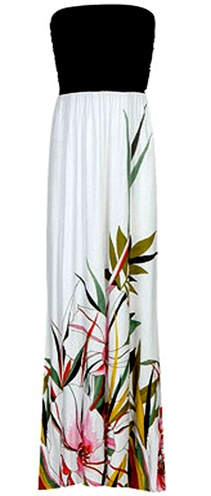 colorblock-floral-maxi-dress