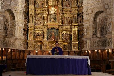 Misa en el Monasterio del Parral