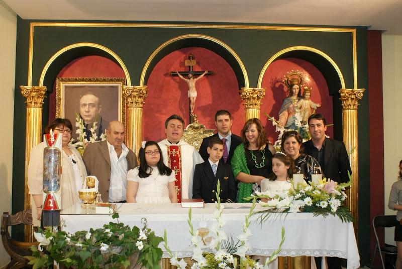 Primeras Comuniones del 3 de mayo de 2009