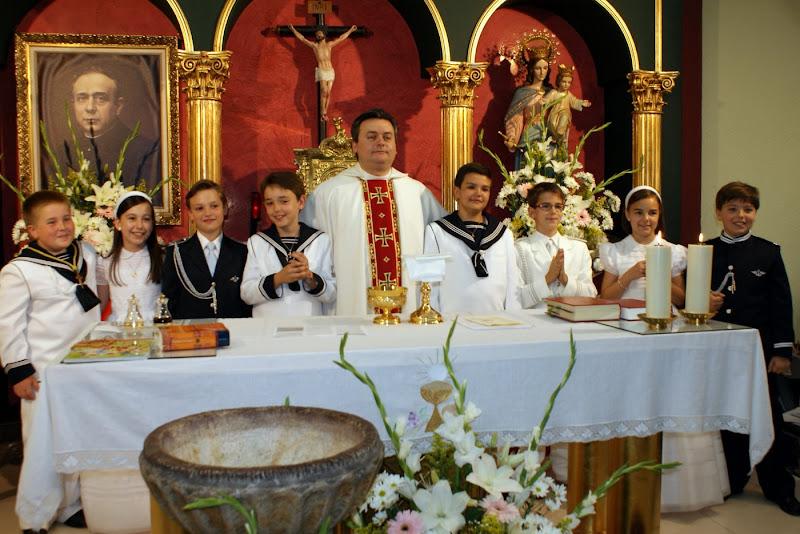 PRIMERAS COMUNIONES DEL 23 DE MAYO DE 2009