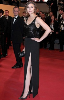 64th cannes film festival Elizabeth Olsen The Row 2