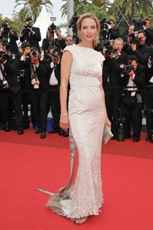 64th cannes film festival uma thurman chanel